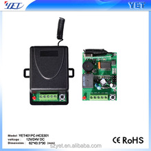 China RF universal remote control transmitter and control YET401PC