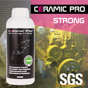 Ceramic Pro Strong - Steel and heavy machinery industrial permanent nano-coating