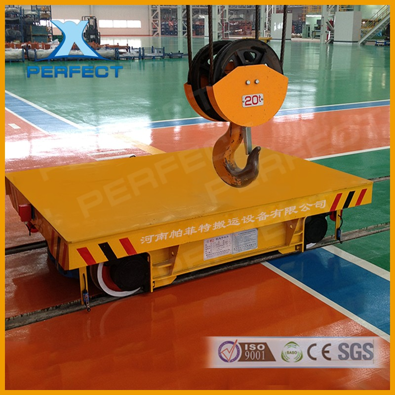 Manufacturer Direct Battery Track Electric Flat Car On Track P38 Transportation Bogie