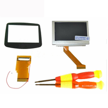 For Nintendo GameBoy Advance SP GBA SP AGS 101 Highlit Screen LCD OEM Backlit Brighter with 40pin/32pin ribbon cable