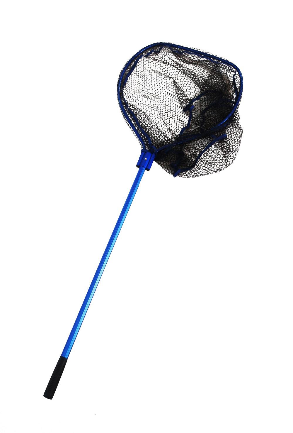Wholesale excellent long handle fishing net fold buy for Long handle fishing net