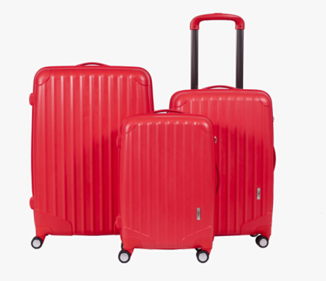 PP luggage 2014 Hot selling super light pure PP trolley luggage