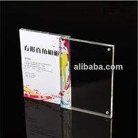 5x7 acrylic frames plastic picture holders