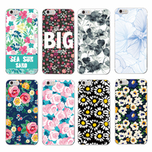 TOMOCOMO Floral Flowers Rose Daisy Cherry Blossom Trendy Fashion Cute Soft TPU case For Samsung Galaxy S5 S6 S7 edge