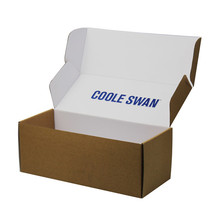 Foldable Custom Made Paper Packaging Box Printing Recycle Kraft Paper Box