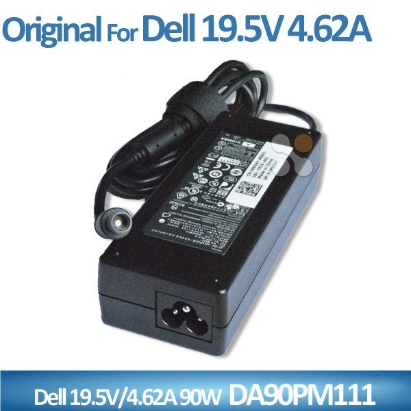 Original battery charger for Dell laptop 90w adapter 19.5v 4.62a ac/dc power supply DA90PM111 MK947