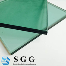 4mm+0.38mmpvb(pvb multi option)+4mm Laminated Glass or with sound control
