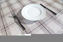 QJMAX Multi Color Super Beauty Tablecloth With Lattice Design