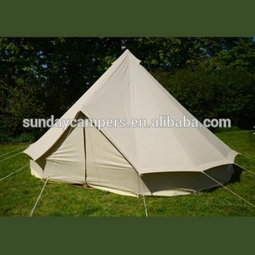 Round circle Best Quality UK Camping Outdoor Cotton 5m Bell Tent