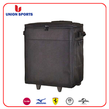 wine carrier bag wine shipper box with Trolley