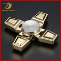 Good Quality Zinc Alloy Kids Game Spinners New Style Cross Hand Fidget Spinner