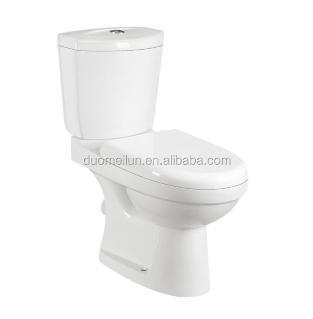 Sanitary Ware Washdown Two Piece Batroom Set Cheap WC Toilet Prices