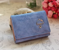 2015 new Korean cute short lady wallet