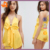 custom make yellow sex jumpsuit,wholesale price hot sale one piece short jumpsuit