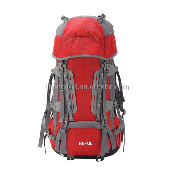 Waterproof More Than 60L Camping Hiking Backpack Brand China