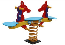 plastic 2 kids swing horse toys Spring rocking Riders Series playground equipment