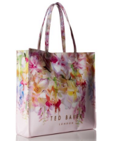 2016 hot sale lady bags custom handbag with flowers printing
