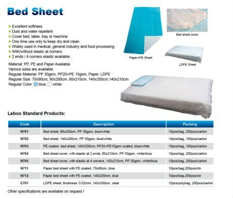 disposable bed cover
