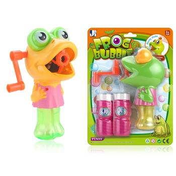 cheap factory selling Cartoon Style duck Hand Shake Blow Bubble Set