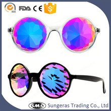 Hot photochromic mens women childrens sunglasses party kaleidoscope glasses
