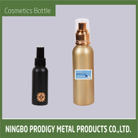 Aluminum fancy refillable cosmetic 2 liter pet bottle