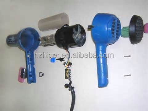 custom make hairdryer parts
