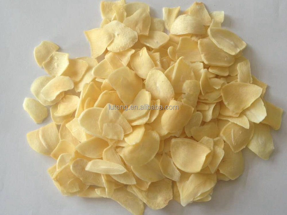 Natural Garlic Flake Dehydrated Vegetable in China
