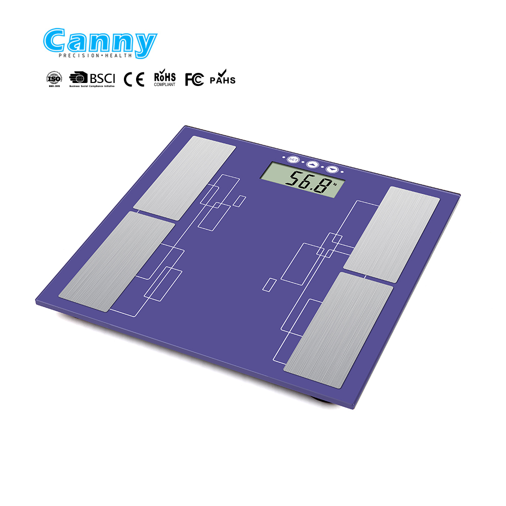 New design body fat scale with fashion design measure body fat, body bone