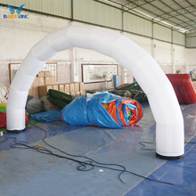Outdoor giant advertising led cheap inflatable arch for sale
