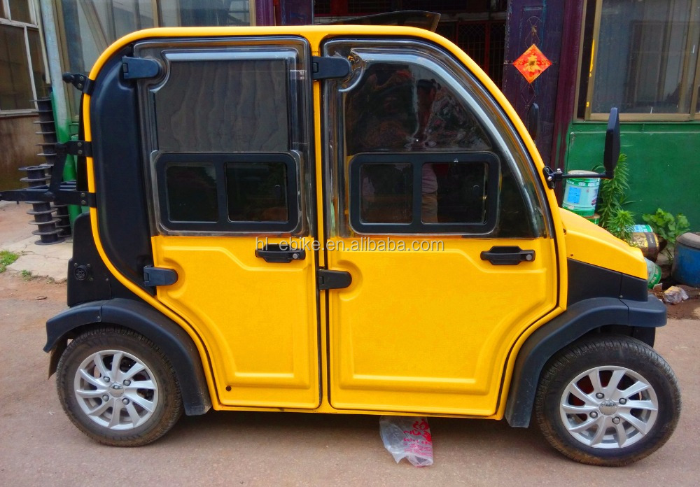 CE/EEC/COC certificate approved electric quadricycles/small auto car with double rows of seats 4100008