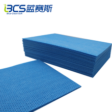 OEM Nonwoven Spunlace household kitchen folding cleaning dry wipes