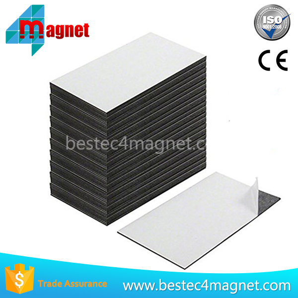 Self Adhesive Business Card Magnets of 100