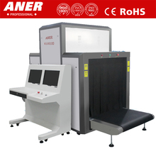 Highly recommend 100100 x ray airport security check machine luggage scanner using for pallet baggage inspection