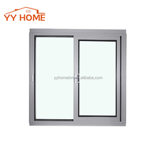 aluminium frame up and down thickness of sliding glass window safety lock