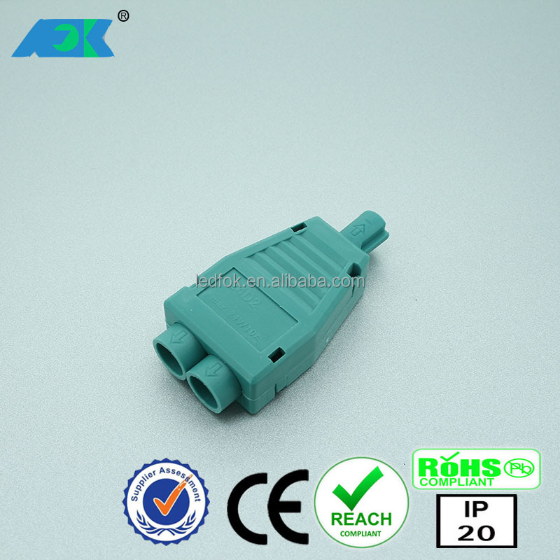 Hot sell european design 2 pin distribution tyco connector of pbt-gf15 for peugeot/citroen