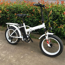 "20"" inch folding electric bike with fat tire"