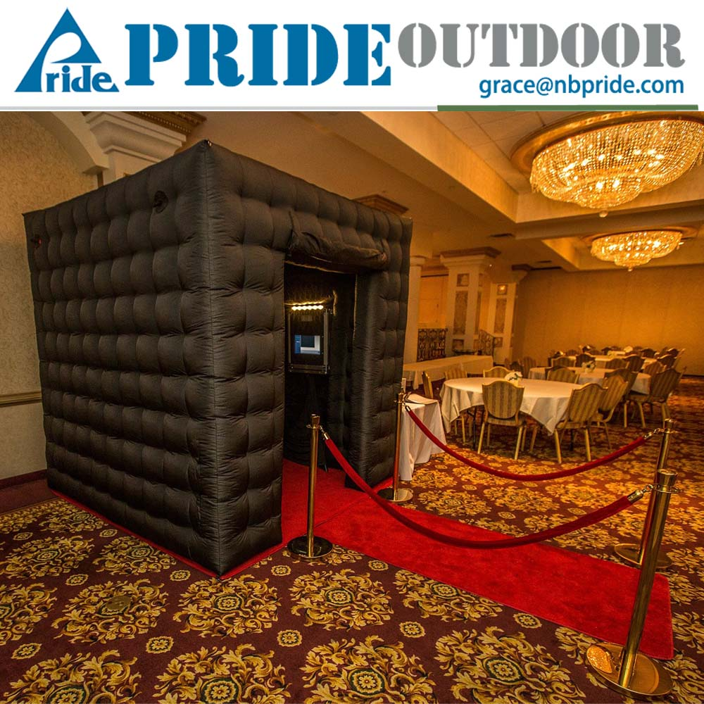 Inflatable Photo Booth Air Clear Bubble Tent Enclosure With LED Lighting And Distant Controller Inflatable Tent Price