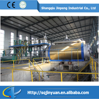Shangqiu Jinpeng High Quality Condensers Factory Sell Directly Waste Tire Recycling Machine Waste Tire Pyrolysis Machine