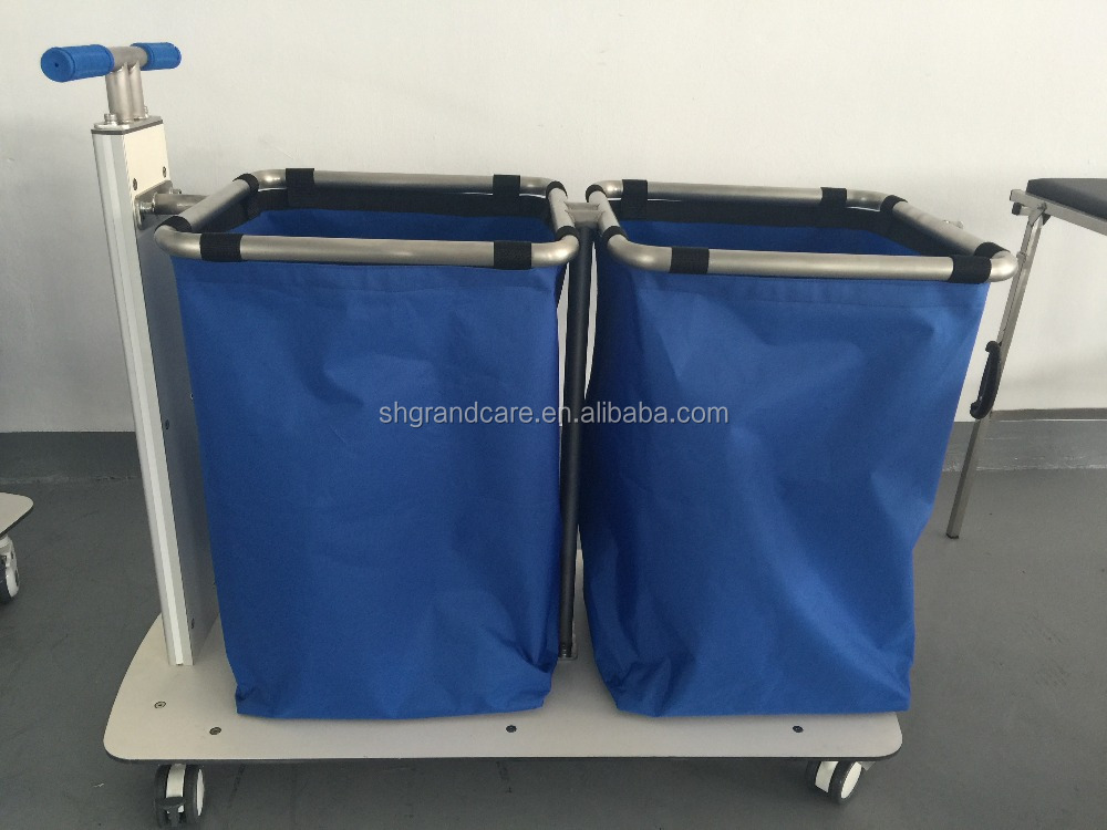 G-TT002 trash laundry medical rolling carts