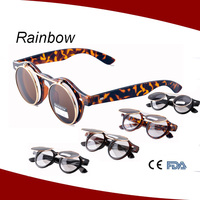 christmas funny sunglasses with double lenses optical frame goggle sunglasses