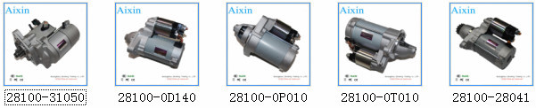 AIXIN Auto Starter Assy/Assembly for TOYOTA Corolla OEM 28100-0D140
