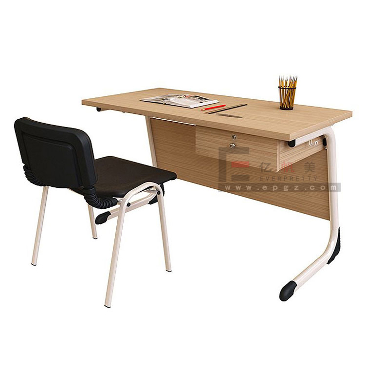 Modern Melamine Table Top Japanese Wooden Teacher's Desk, School Teacher Table Design