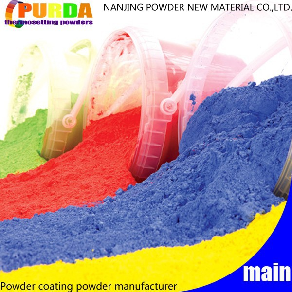 Standard Color Thermosetting Polyester Powder Exterior Paint