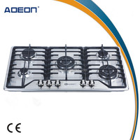 905AH Cheap built-in stainless steel 5 burners kitchen gas cooker/gas stove/gas hob