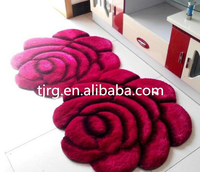 Tianjin Ronggang alibaba wholesale New Design hand-made printing a flower carpet