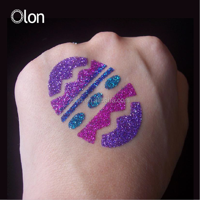 Kids glitter tattoo temporary