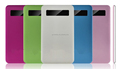 4000mah Ultra Thin Mobile Power Bank Lithium Polymer Portable Battery Charger USB Powerbank