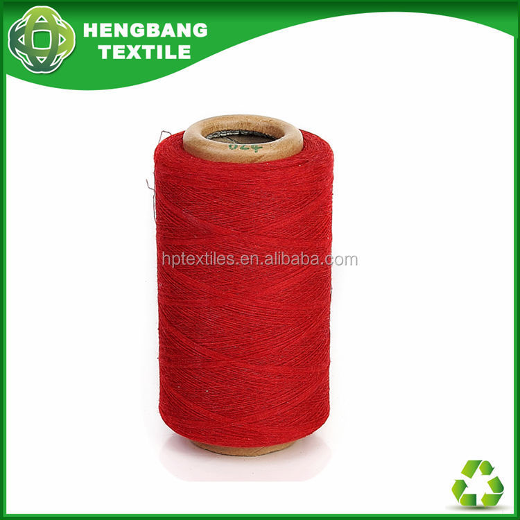 TOP Open End blended Regenerated 6s 2ply cotton mop yarn mill