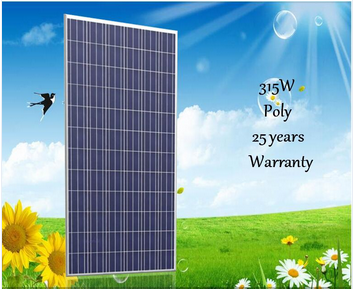 Cheap price poly 315w solar module pv solar panel for home use