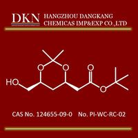 Highest quality T-butyl-(3R,5S)-6-hydroxy 3,5-O-isopropylidene 3,5-dihydroxyhexanoate CAS NO.124655-09-0